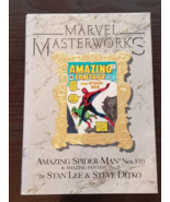 Marvel Masterworks Vol 1 The Amazing Spider-man 1-10 (& Amazing Fantasy 15) - $25.00
