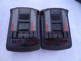 Bosch Set Of 2 Rechargable Cordless Battery BAT609 Work Well Nice - $39.99