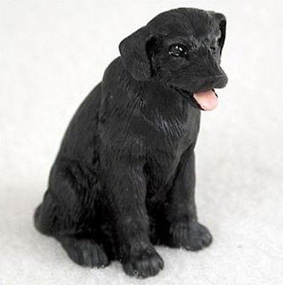 LABRADOR RETRIEVER LAB (BLACK) TINY ONES DOG Figurine Statue Pet Lovers Resin