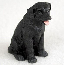LABRADOR RETRIEVER LAB (BLACK) TINY ONES DOG Figurine Statue Pet Lovers ... - $8.99