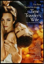 "THE TIME TRAVELLER'S WIFE - 27""x40"" D/S Original Movie Poster One Sheet ... - $29.39"