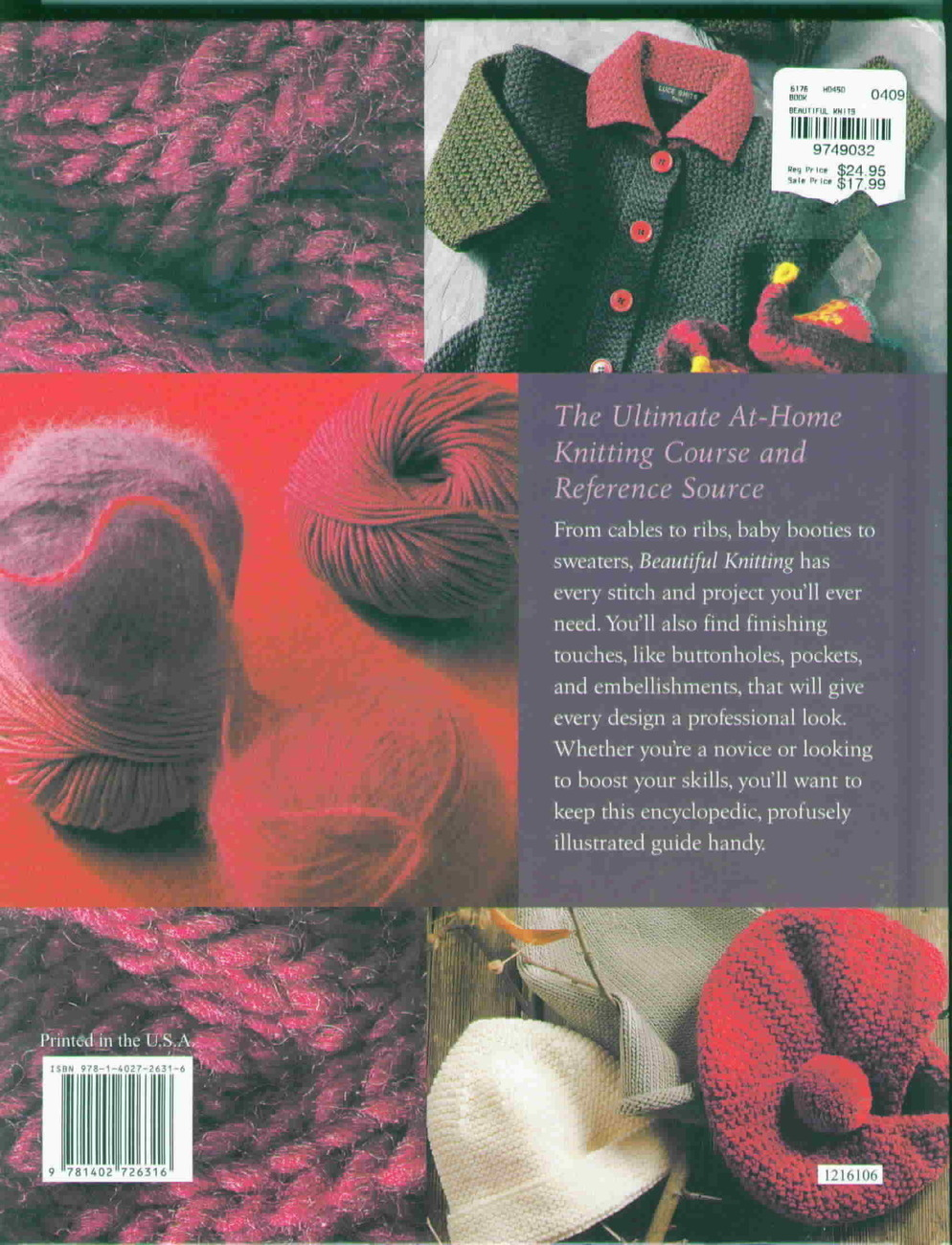 Knitting Techniques Uk : Beautiful knitting techniques and patterns for creating