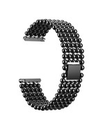 22mm Five Beads Alloy Wristbands Fashion Watch Band Replacement For Fitb... - $17.10