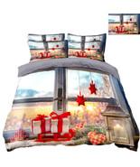 3D Christmas  Xmas 1502 Bed Pillowcases Quilt Duvet Cover Set Single Que... - $90.76