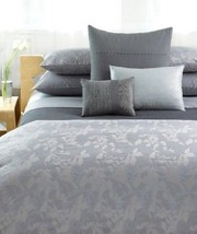 Calvin Klein HAZE 4P Queen Sheet Set Haze Dappled Border New - $170.95