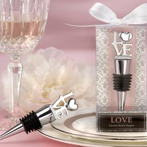inch LOVE inch  Chrome Bottle Stopper  - $5.99