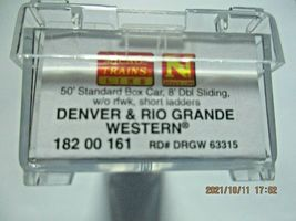Micro-Trains Stock # 18200161 Denver & Rio Grande Western 50' Boxcar W/Load (N) image 6