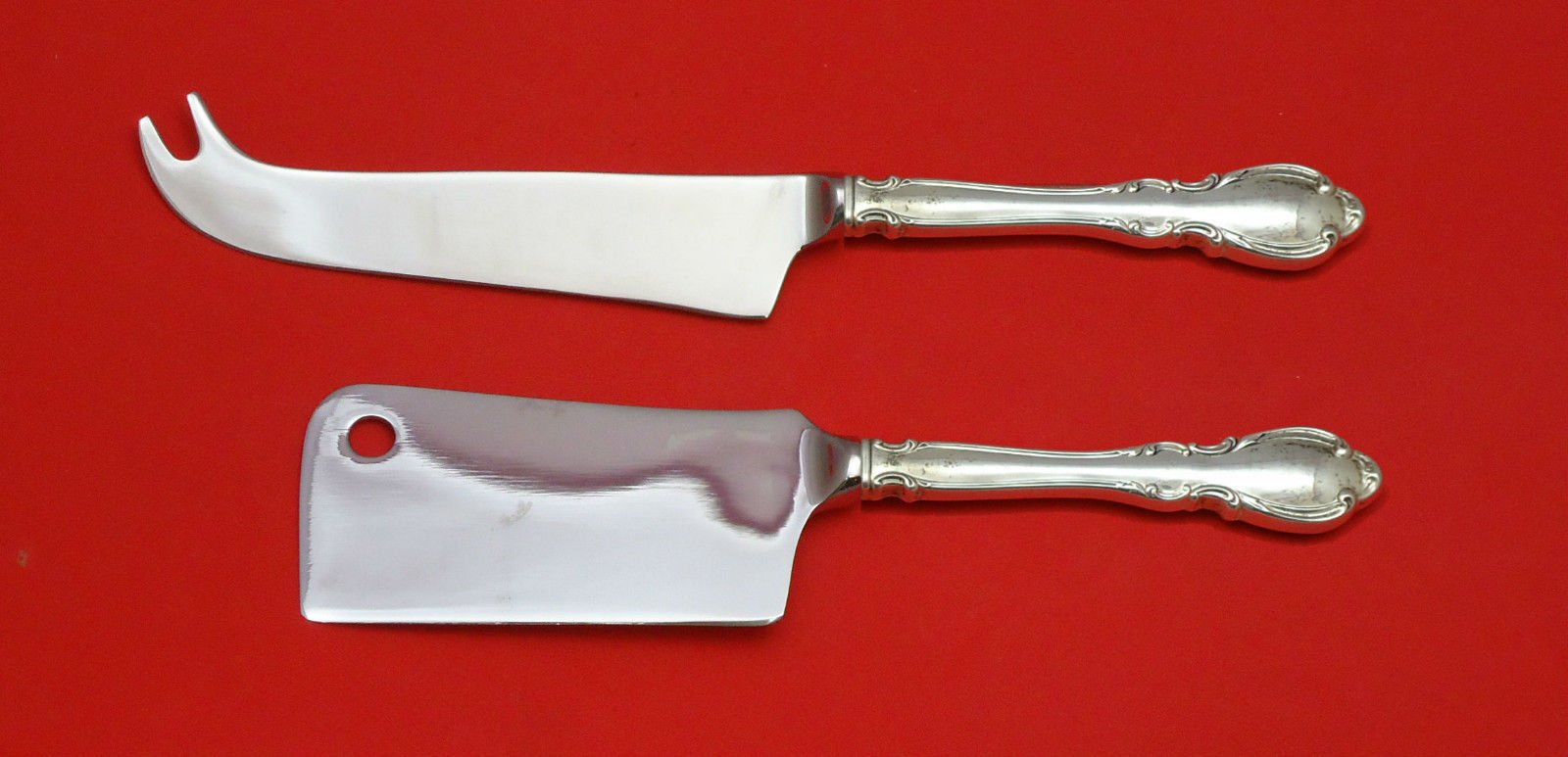 Primary image for Legato by Towle Sterling Silver Cheese Server Serving Set 2pc HHWS  Custom Made