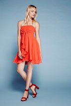Free People Good For You Strapless Tie-Front Mini Dress 10 - $95.00