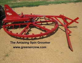 Spin Groomer Equestrian Arenas  - $1,682.00