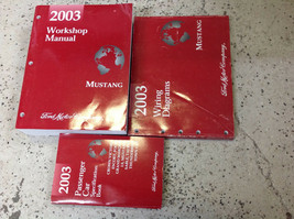 2003 Ford Mustang Gt Cobra Mach Service Shop Repair Manual Set W EWD + S... - $197.99