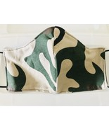 Camouflage cotton face mask Made in USA - £7.59 GBP