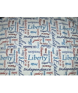 Forth  Of July Doilie  Candle Mat Doily - $2.97