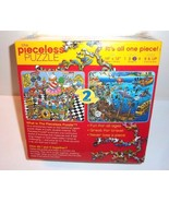 2 Sided NEW Puzzle 1 Piece Style School Cafeteria & Sunken Treasure Piec... - $21.24