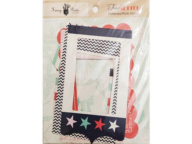 Fancy Pants Designs Trend Setter Patterned Photo Frames, Set of 6