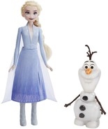 Disney Frozen Talk and Glow Olaf and Elsa Dolls, Hasbro - £37.81 GBP