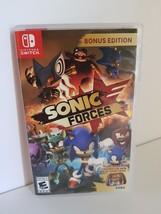 Sonic Forces Bonus Edition Nintendo Switch 2017 with Joy-Con decals case... - €33,60 EUR