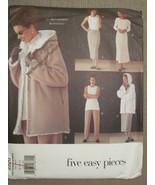 Vogue 2220 Very Easy Jacket/Dress/Top/Skirt/Pants 8-10-12 @  - $9.99