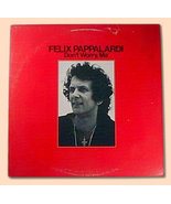 FELIX PAPPALARDI Don't Worry Ma 1979 A&M WL PROMO LP - $12.99