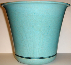 Aqua Planter with Attached Saucer ~ Made of Bamboo - $5.00