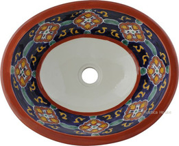 "Mexican Oval Bathroom Sink ""Clearwater"" - $172.00"