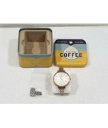 Fossil Heather ES3215 Ladies Stainless Steel Quartz Date Watch  FREE USA SHIP - $80.00