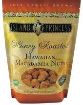 Island Princess Honey Roasted Hawaiian Macadamia Nuts, Premium Quality 1.25 Poun - $39.99