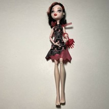 Monster High Frights Camera Action Black Carpet Draculaura Doll With Purse - $24.74