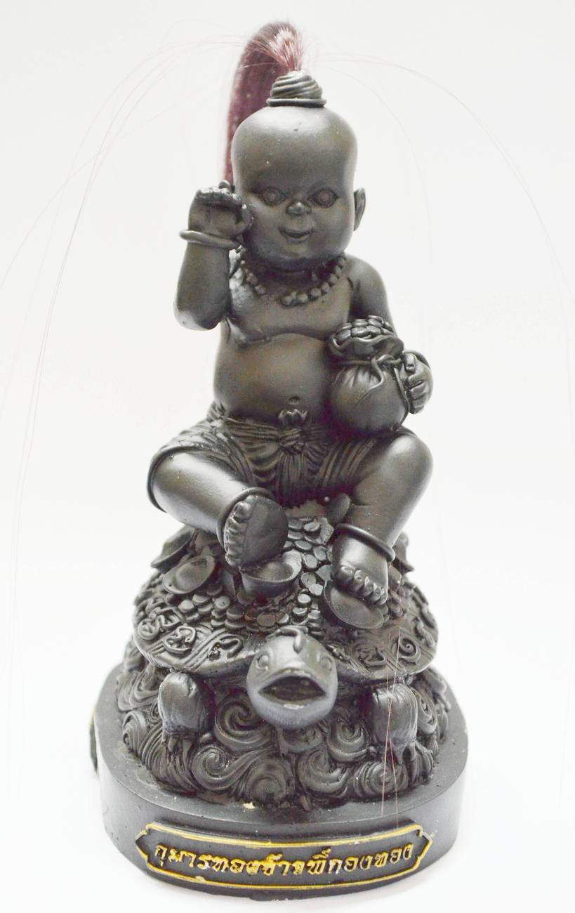 Thai KumaanTong Kuman Jao Pee Kong Thong LP.Sanit,Wat Putta Nupaap Temple