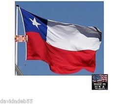 0,9x1,5m Chile Resistente en / Exterior Super-Poly Bandera Fabricado EEUU - $13.89