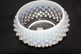 Old Fenton Glass Co. Hobnail Opalescent Dish - $95.00