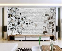 3D Skizze der Blumen 26766 Fototapeten Wandbild Fototapete BildTapete Familie DE - $52.21+