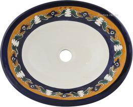 "Mexican Oval Bathroom Sink ""Washington"" - $172.00"