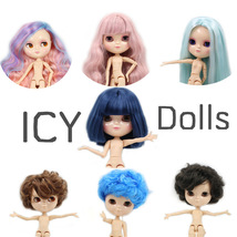 Nude ICY Doll The Same As Blyth With Makeup,JOINT Body,lower Price 1/6 ... - $58.89