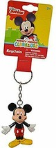 Disney Junior Mickey Mouse Clubhouse Key Chain  Mickey Figurine New - $12.99