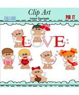 Chubby Cupid Clip Art - $1.35