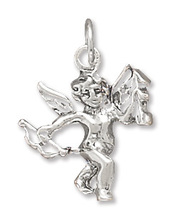 Sterling Silver Cupid Charm - €14,97 EUR