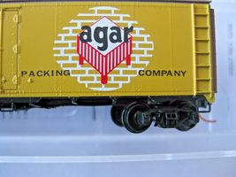 Micro-Trains Stock #05900556 Agar Packing Co 40' Steel Ice Reefer N-Scale image 3