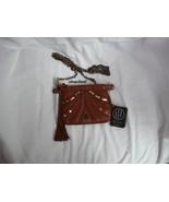 Hayden Harnett Corinne Mini Bag Cognac Leather New - $99.00