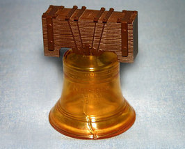 1971-1972 Collectible Avon Liberty Bell Bottle  - $10.99