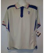 Texas Rangers Mens Large Polo Shirt MLB Baseball - $24.42