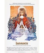 LABYRINTH - CLASSIC MOVIE POSTER 24x36 - BOWIE  - $20.00