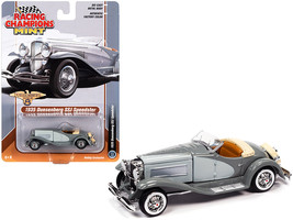 1935 Duesenberg SSJ Speedster Dark Gray and Light Gray 1/64 Diecast Model Car by - $18.19