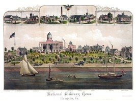 4468.National Military home.hampton VA.boats.river.POSTER.decor Home Off... - $10.89+
