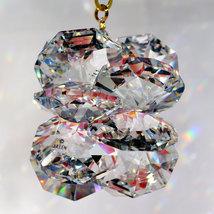 Large Crystal Suncluster Ornament image 2