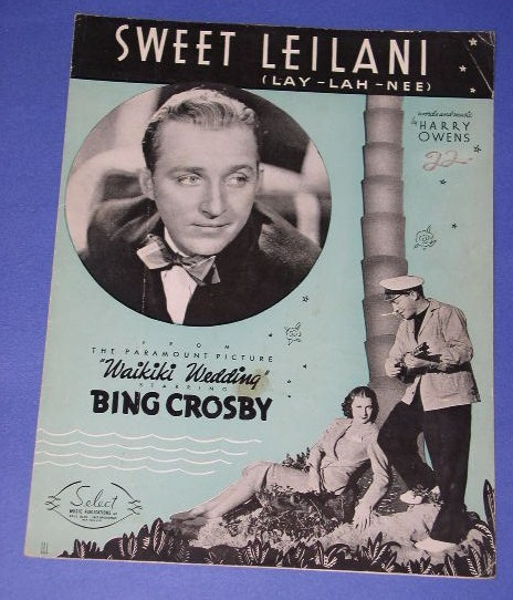 Bing Crosby - Sweet Leilani / The One Rose