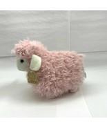 "Animal Adventure 2020 Plush Lamb  9.5""H Plush Stuffed Cuddly Toy Pink - $7.99"