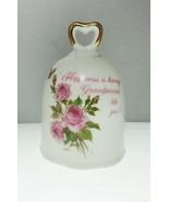 A Grandparents Remembrance Fine Porcelain Bell - $9.62