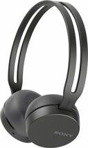 Sony WH-CH400 Wireless Bluetooth Headband Headphones w/Microphone - BLACK - £13.10 GBP