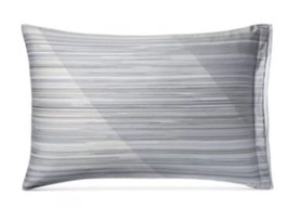 1 Hotel Collection Diamond Stripe Standard Sham 100% Pima Cotton - $31.49